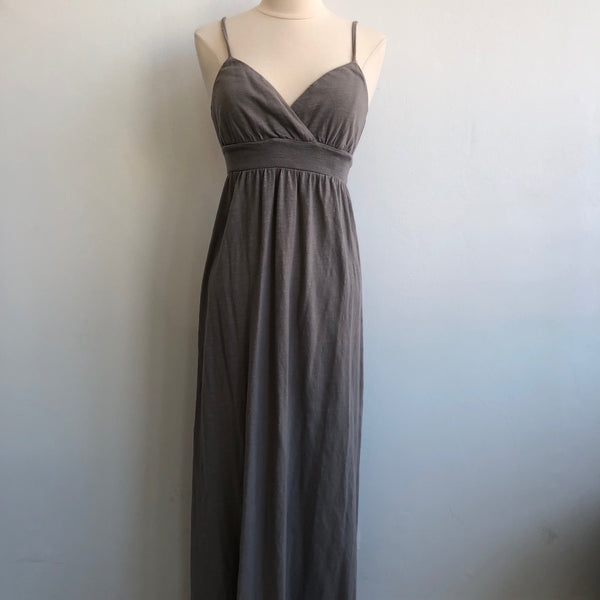 James Perse Taupe Cotton Maxi