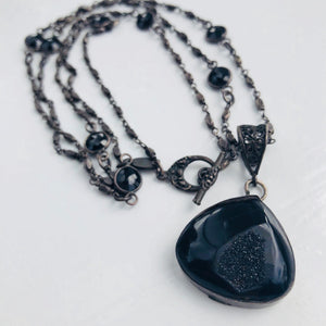 Safia Day Black Onyx Tear Drop