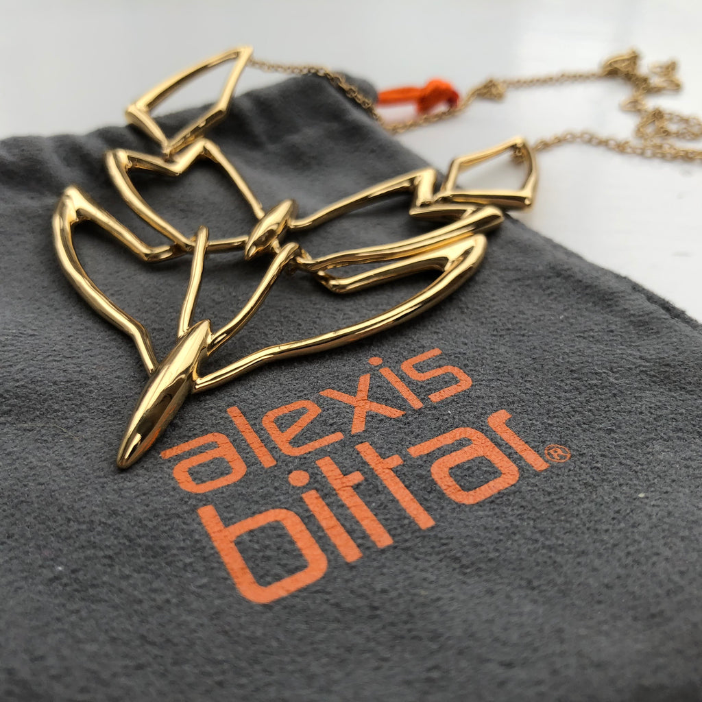 Alexis Bittar Kinetic Bib Necklace