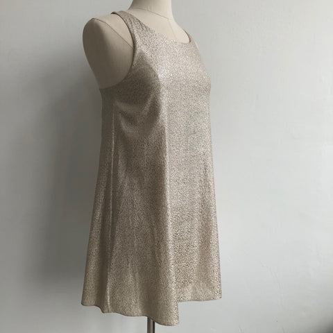 Alice Olivia Gold Shift NWT
