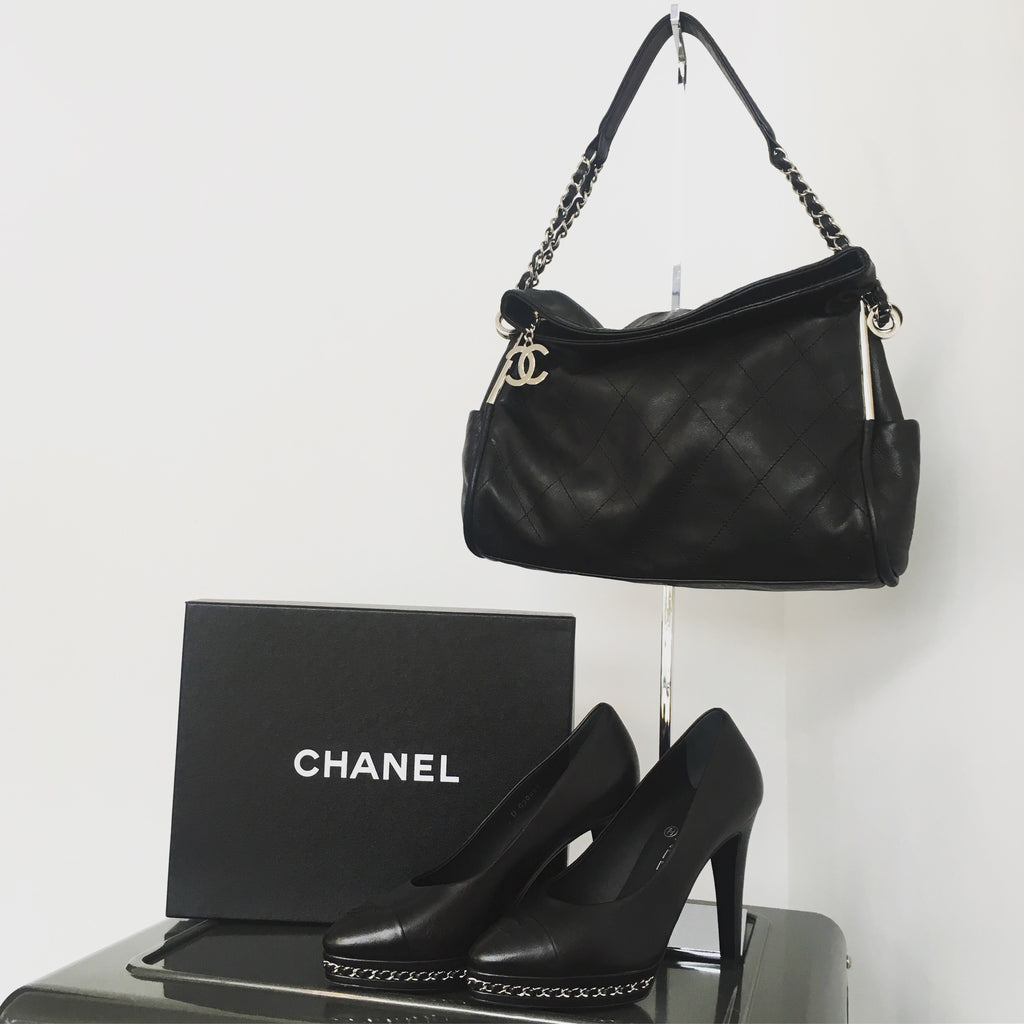CHANEL Lambskin Pump NWT