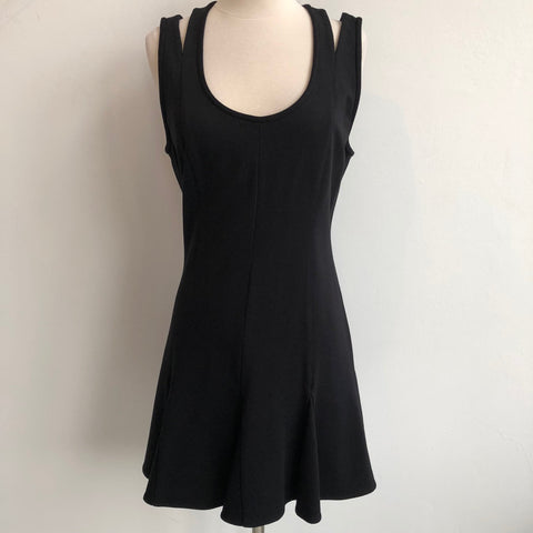 Rebecca Minkoff Black Double Strap Dress
