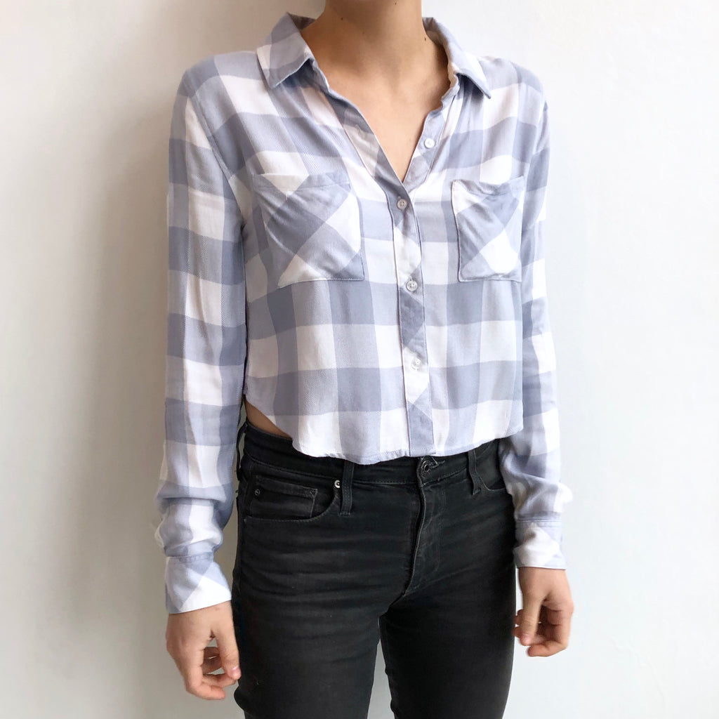 Rails Cropped Blue NWT