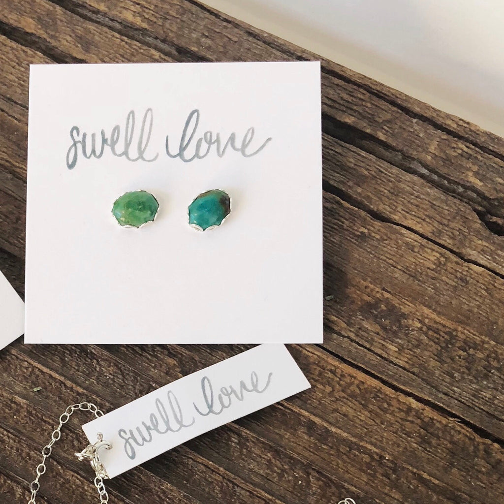 Swell Love Turquoise Earrings