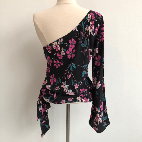 Backstage Single Shoulder Floral NWT