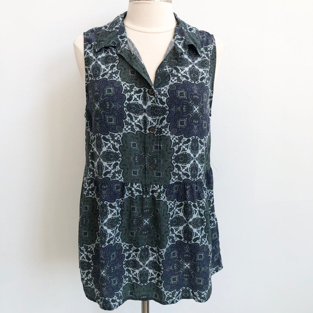Equipment Moody Paisley Top