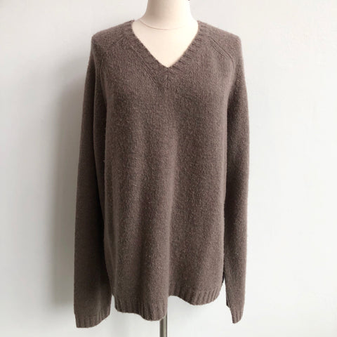 Vince Taupe V Sweater
