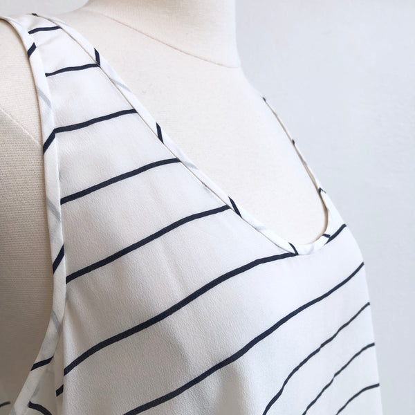 Joie Striped Racerback Tank