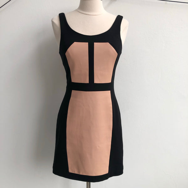 Rebecca Minkoff Blush Paneled Black NWT