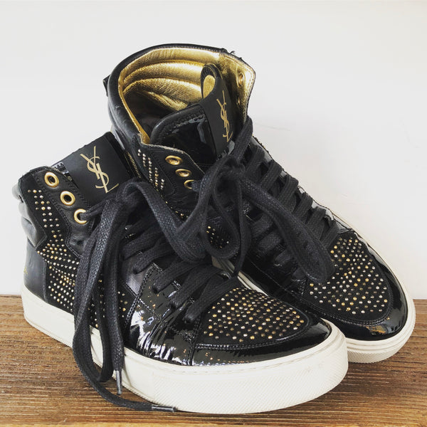 YSL Malibu Studded Hightops