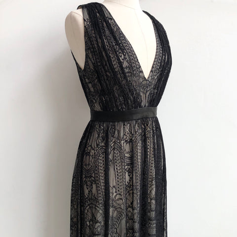 Alice Olivia Lace Sybil Dress