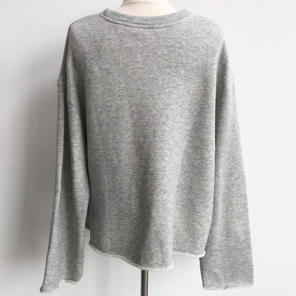 Vince Light Gray Sweatshirt NWT