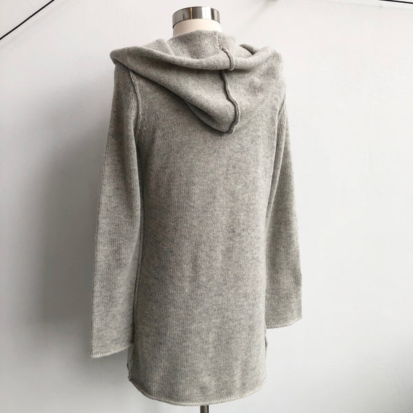 Vince Hooded Cardigan Cream