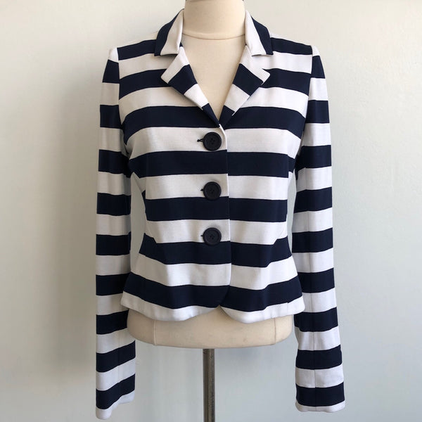 Bailey 44 Navy Striped NWT