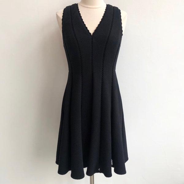 Rebecca Taylor Fit Flare Black Panel