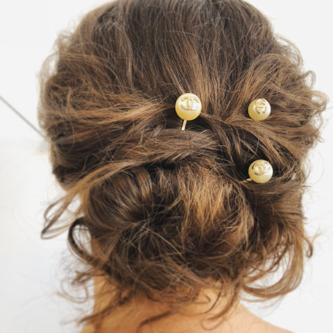 CHANEL CC Hairpins