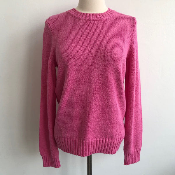A.P.C. Pink Cotton Pullover