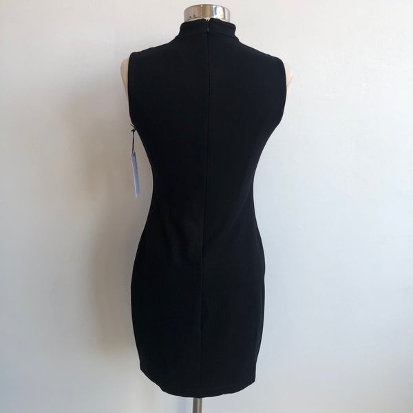 Bailey 44 Black Stitch Neck NWT