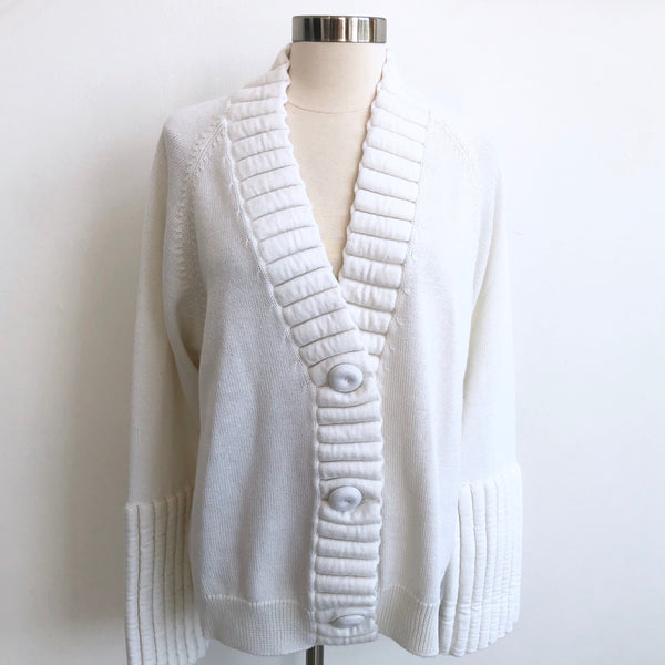 Mason Margiela Cream Cardigan NWT