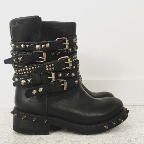 ASH Studded Spiked Boots