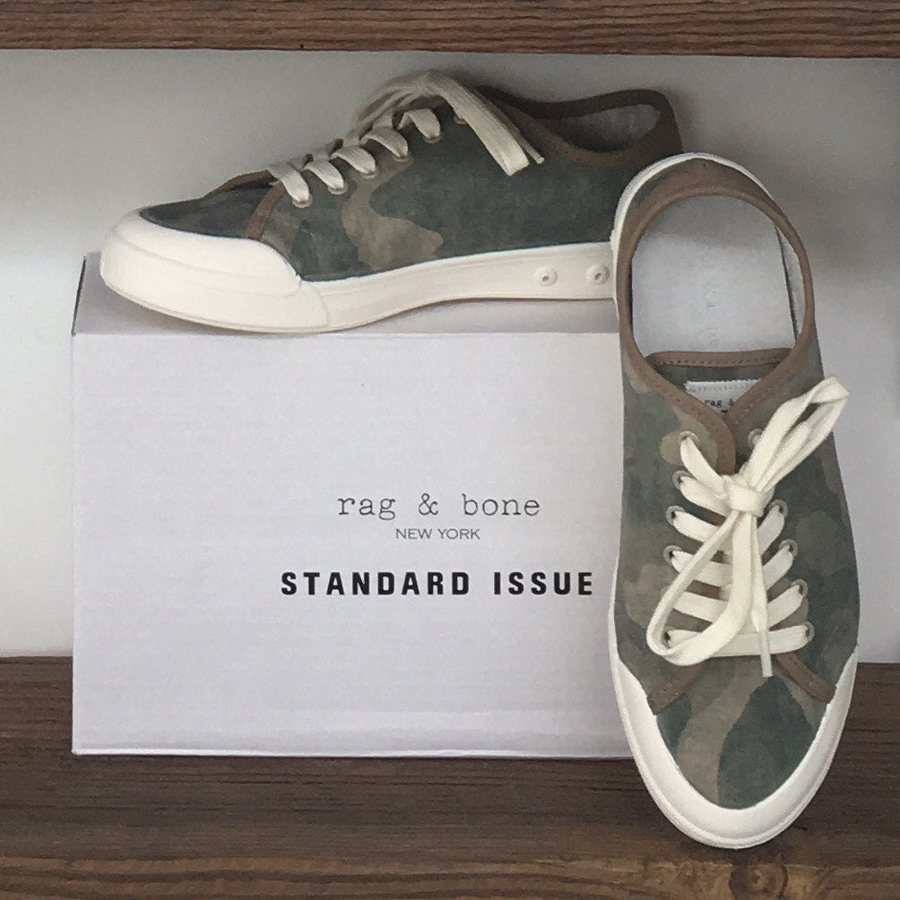 Rag & Bone NWT Camo Lace-Up Runners