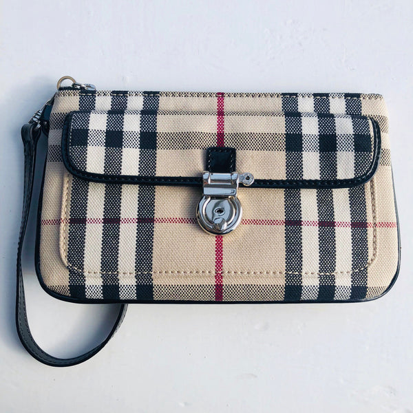Burberry Clutch Wristlet