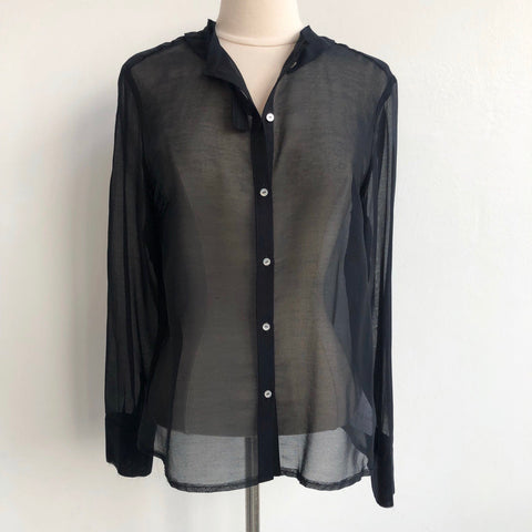 Antipast NWT Cotton Silk Long Sleeve