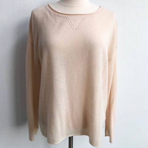 Joie Cream Cashmere Sweater