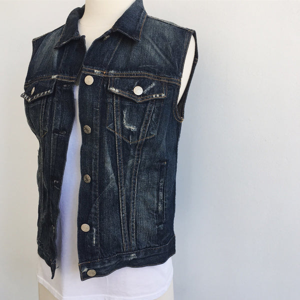 Rag & Bone Denim Vest