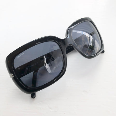 Burberry Black Studded Glasses