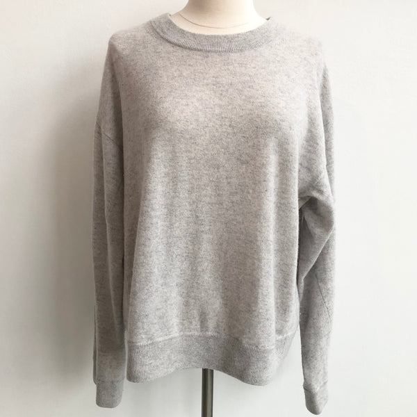 Vince Gray Cashmere Pullover