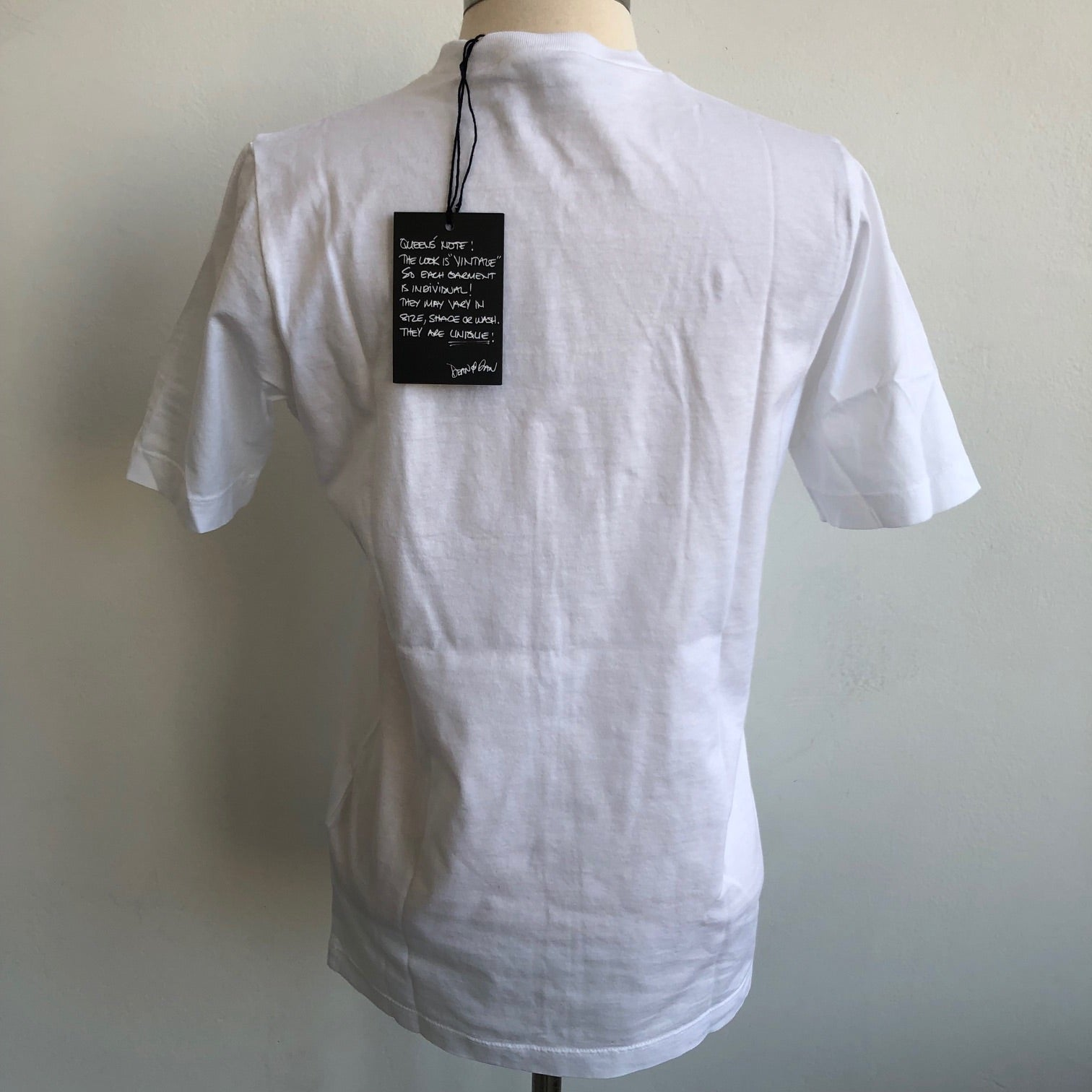 Dsquared2 White Logo Tee NWT