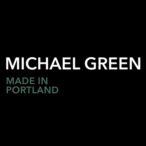 MICHAEL GREEN - Canvas + Leather