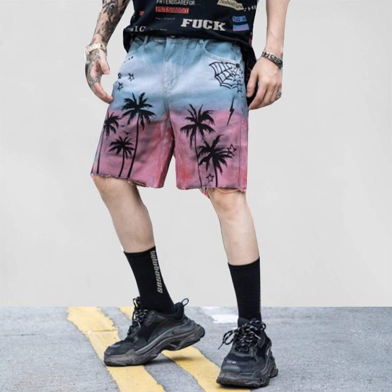 LOAFING SHORT JEANS - Raiment NYC