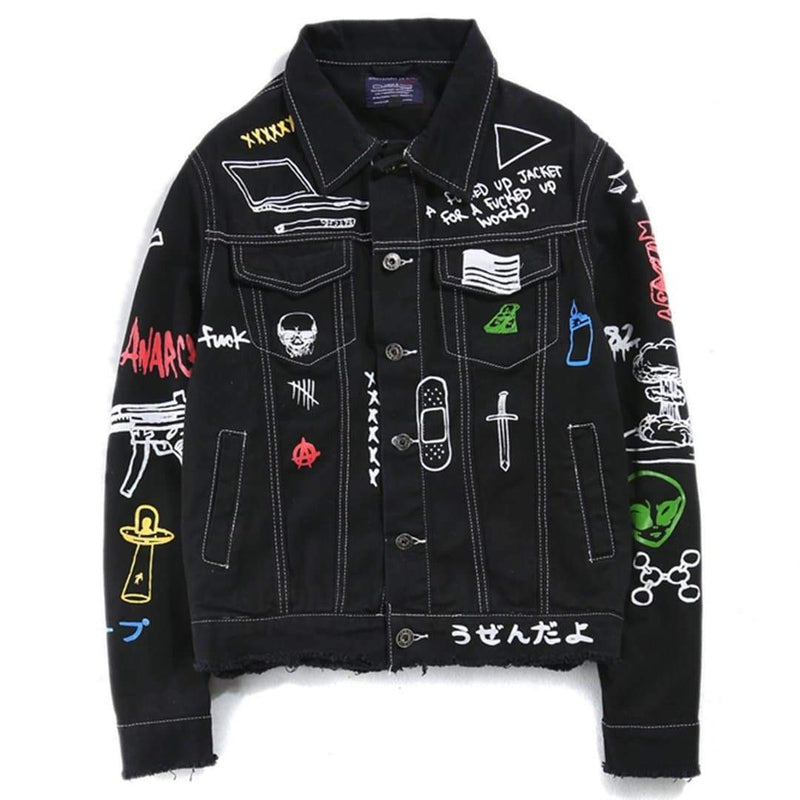 ROCKER DENIM JACKET - Raiment NYC