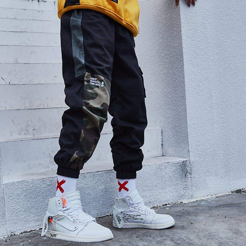 GRIFFITH CAMO PATCHWORK JOGGERS - Raiment NYC