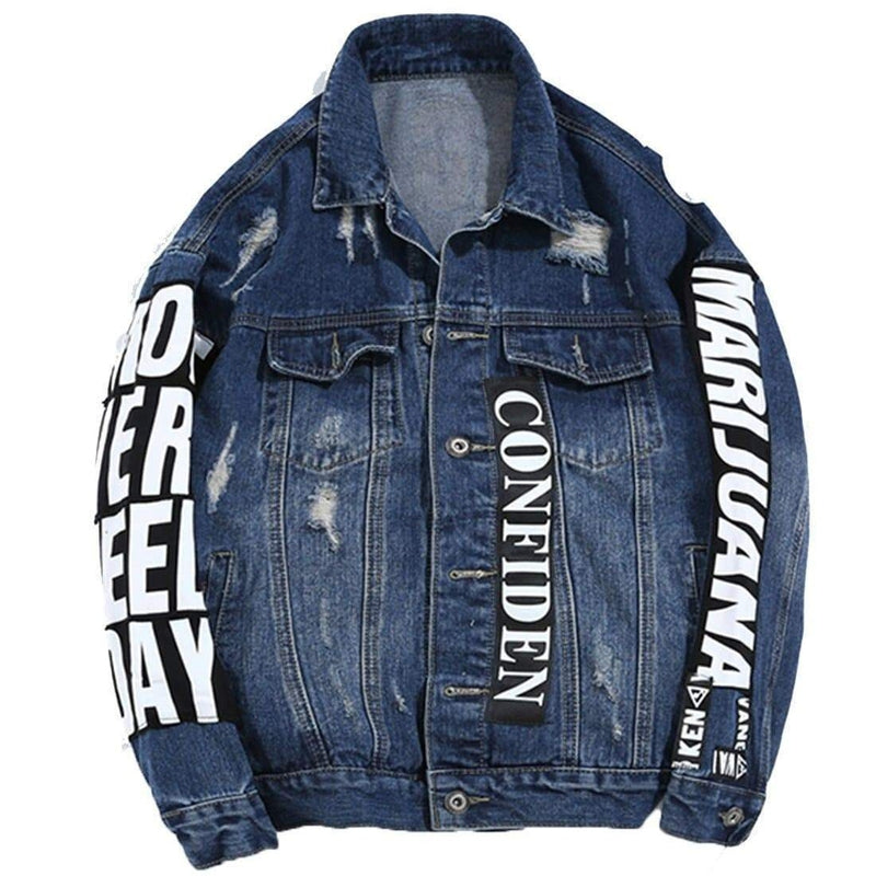 SWAG DENIM JACKET - Raiment NYC