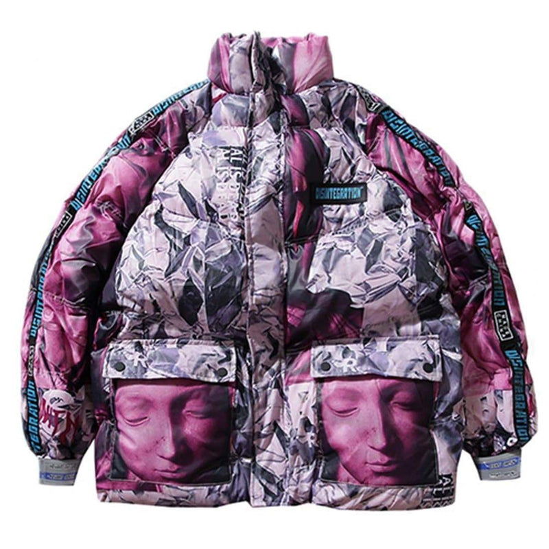 DISINTEGRATION WARM PARKAS JACKET