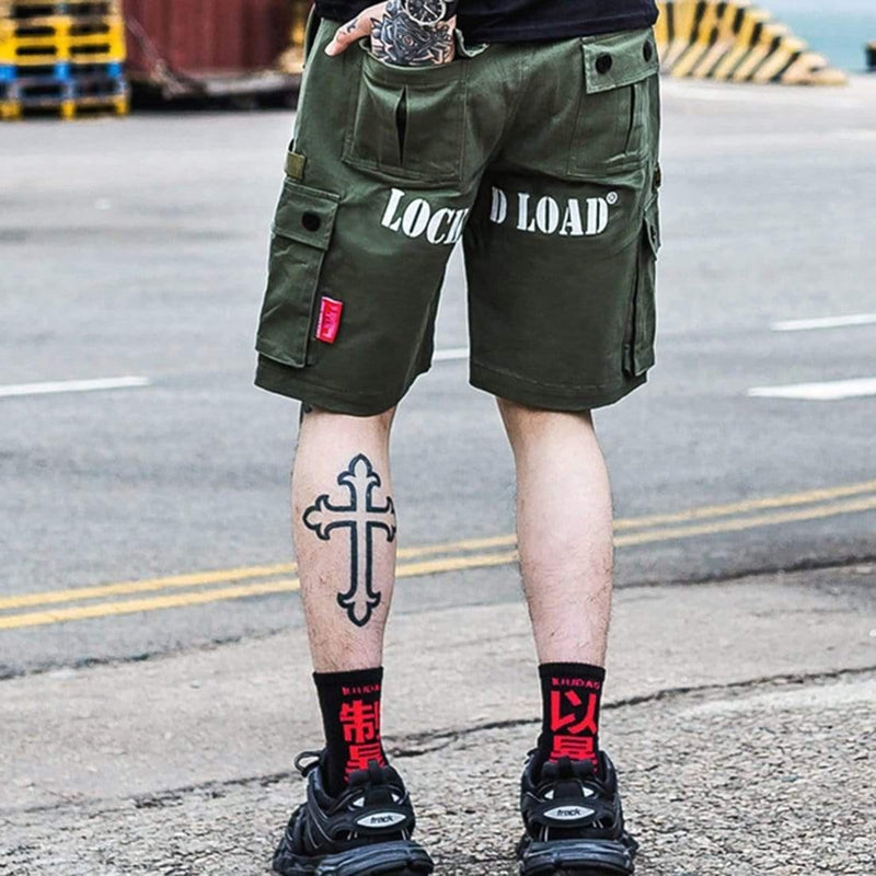 LOCK CARGO SHORTS - Raiment NYC