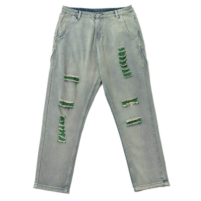GREEN PHANTASM JEANS - Raiment NYC
