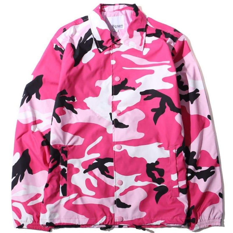 SNAPPY CAMO WINDBREAKER - Raiment NYC