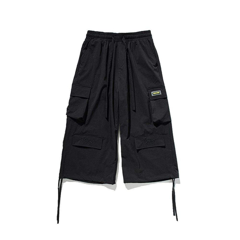 DREAMERS ANKLE-TIED CARGO PANTS
