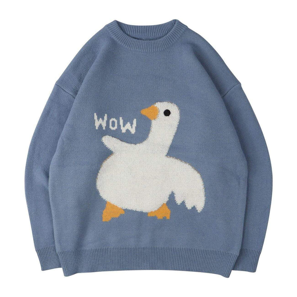 WOW GOOSE SWEATER