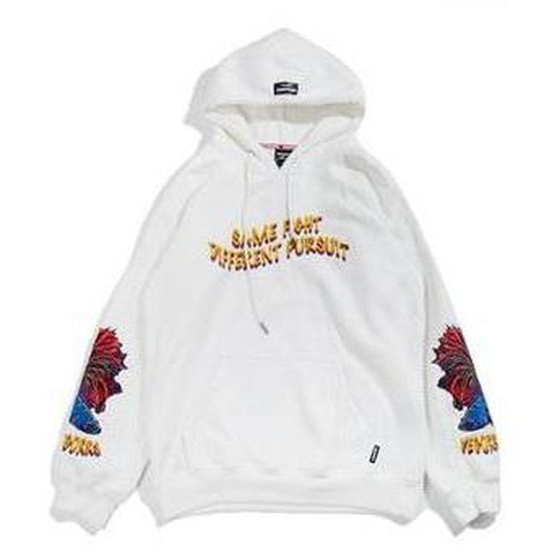 FIGHT & PURSUIT HOODIE - Raiment NYC