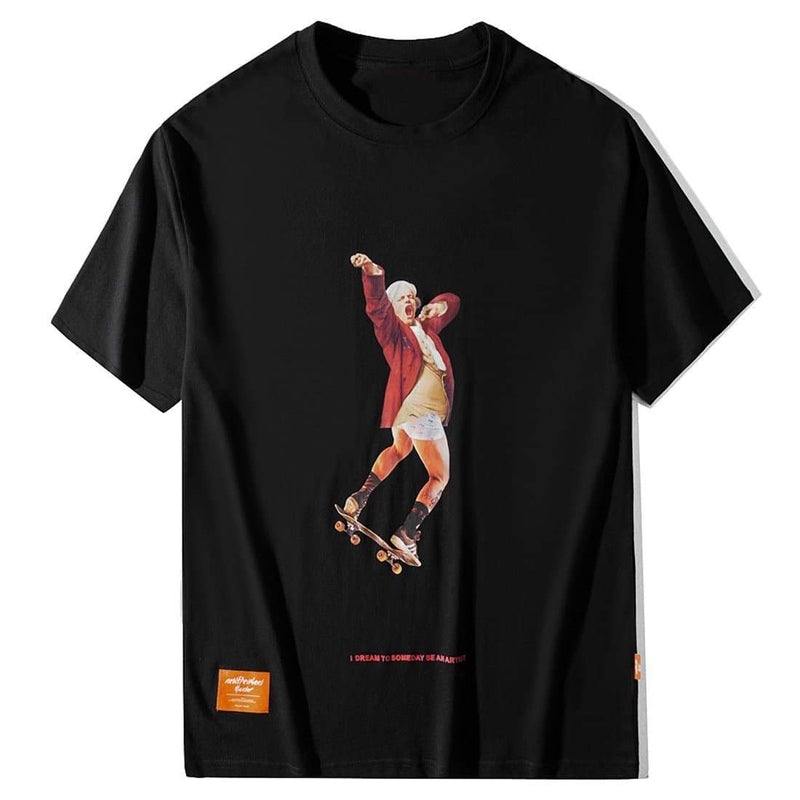 GRIZZLED SKATER TEE - Raiment NYC