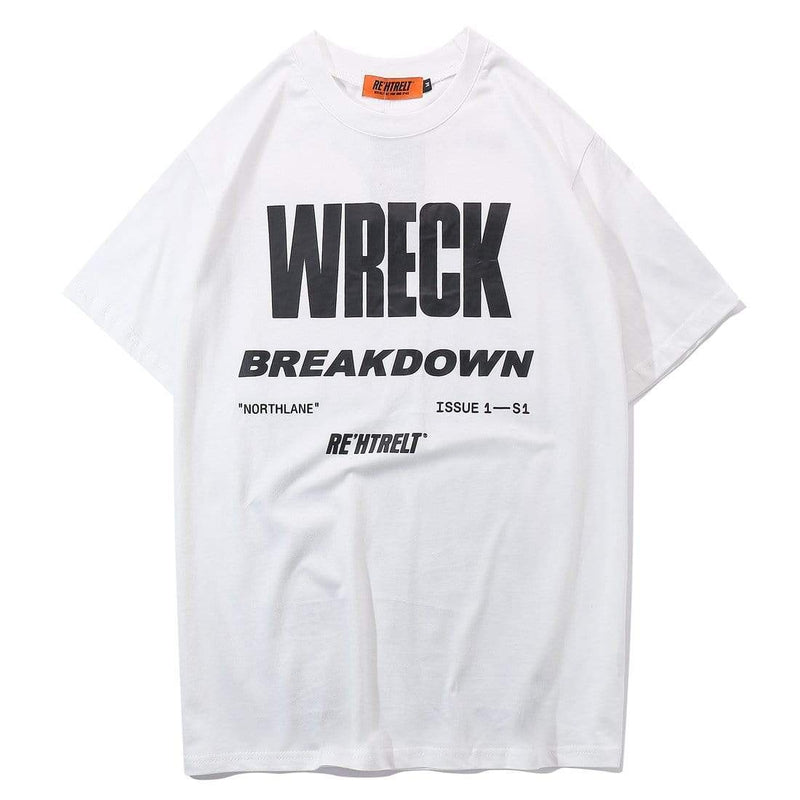 WRECK BREAKDOWN TEE - Raiment NYC