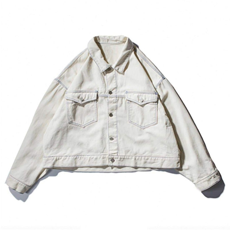 WILDLIFE SHORT DENIM JACKET - Raiment NYC