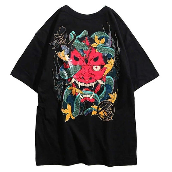 SNAKE DEMON TEE - Raiment NYC