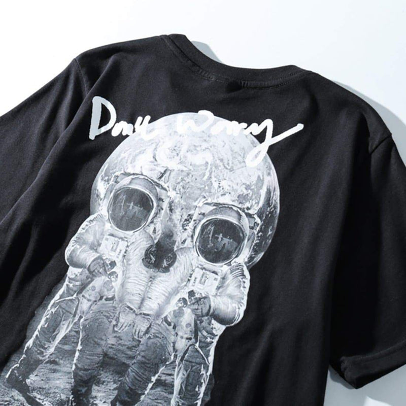 SKULL SPACE TEE - Raiment NYC