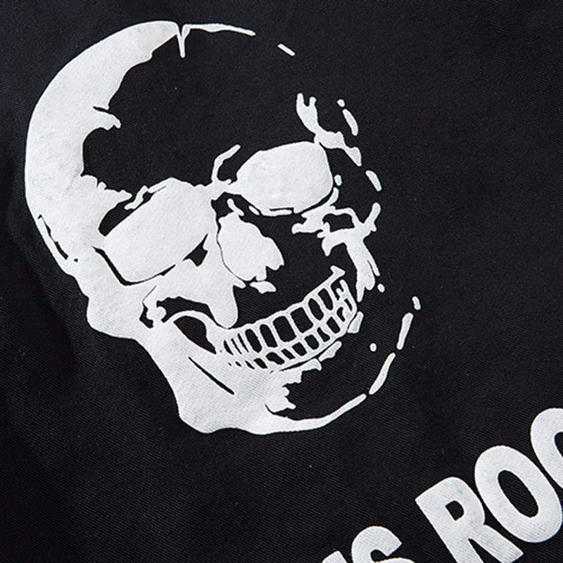 SKULL HEAD DENIM JACKET - Raiment NYC